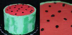 Watermelon cake // Fonderia Dolci & Design