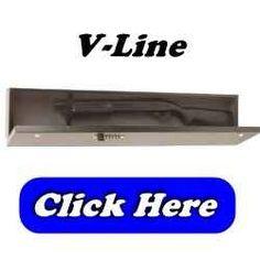 V-Line - Under Bed Gun Safe - V-Line Quick Access Keyless Shotgun Safe