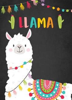 Shop Whole llama fun birthday invitation Alpace Cactus created by Anietillustration. Wallpapers Rosa, Cute Wallpapers, Llama Birthday, Birthday Fun, Alpacas, Alpaca Illustration, Llama Drawing, Diy Birthday Invitations, Tilda Toy