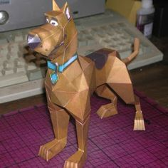 Tektonten Papercraft - Free Papercraft, Paper Models and Paper Toys: Scooby Doo Papercraft