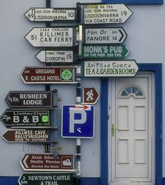 """""""I wonder if you could tell me how to get to""""... The Tea Junction in Ballyvaughan, Co. Clare."""