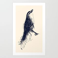 The Songbird Art Print by Jason Angeles - $16.64
