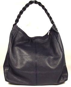 Real Leather Baby Pink Banana Boat Shape Hobo Handbag, Ladies ...