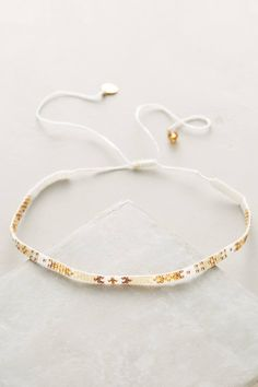 Slide View: 1: Luciana Beaded Choker Necklace