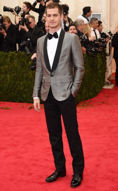 Andrew Garfield from Best Dressed Men at the 2014 Met Gala | E! Online