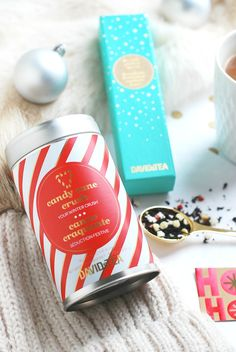 A Certain Romance Davids Tea, Gingerbread Village, Love List, Tea Packaging, Christmas 2016, Tea Mugs, Candy Cane, Afternoon Tea, Tea Time