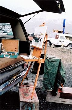 Adventures in Plein Air Painting - Alaska | Diann Haist - Blog