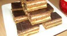 Lajcsi szelet - Süss Velem Receptek Tiramisu, Sweet, Ethnic Recipes, Food, Hoods, Meals