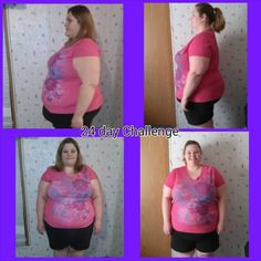"""""""1st 24 day Challenge lost 17lbs and 28.25"""" off my body!"""" - Kayla Shepherd"""