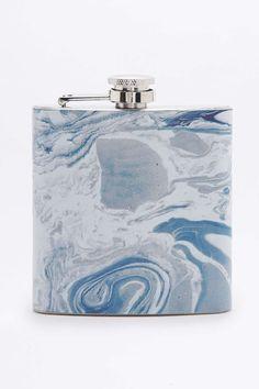 Marble Granite Hip Flask