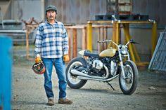 BMW R Ninet Custom Project - Go Takamine – Brat Style #streettracker #motorcycles #motos | caferacerpasion.com