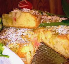 Rhubarb Cake, Polish Recipes, Polish Food, I Want To Eat, Pumpkin Cheesecake, How Sweet Eats, Cake Cookies, Cake Recipes, Sweet Tooth