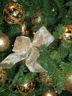 gold decorations