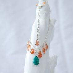 gypsy spirit adorning aphrodite one of a kind amazonite and copper quartz for freedom and creativity <3
