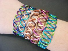 Custom Braided Wire Bracelet Choose Your Own by RefreshingDesigns