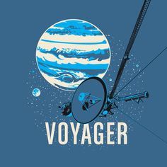 Voyager Spacecraft T-Shirt | Chop Shop