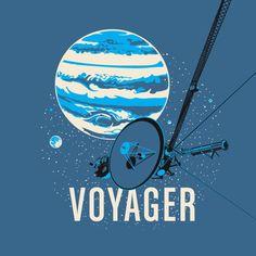 Voyager Spacecraft T-Shirt | Chop Shop