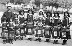 Sarakatsani Greek Traditional Dress, Greece Photography, Across The Border, Folk Costume, Beautiful People, Culture, Pure Products, History, Greek Costumes