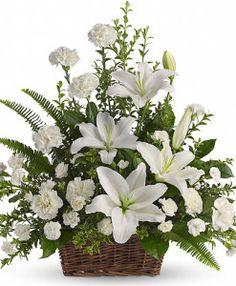 centro funerario blanco servisa floristeria