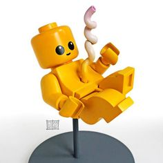 Congratulations It's a minifig by jason freeny x mighty jaxx