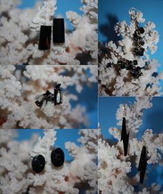 @BlackCoral4you Black Coral Earrings / Coral Negro Pendientes o Aretes http://blackcoral4you.wordpress.com/