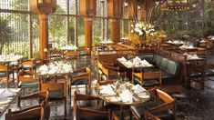 Dining room, Mena House, Oberoi Hotels, Cairo