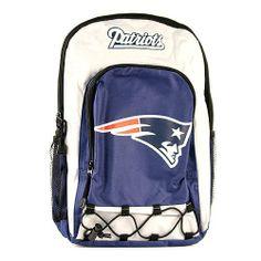 New England Patriots NFL Bungi Bottom Team Colors Backpack by NFL. $15.99. The perfect backpack for the die hard or casual fan. Carrying your belongings is more fun with this NFL backpack by Concept One.