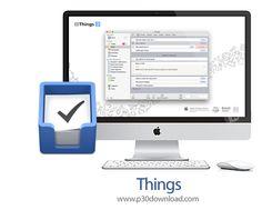 [مکینتاش] دانلود Things v2.8.8 MacOSX - نرم افزار حرفه ای برنامه ریزی برای مک