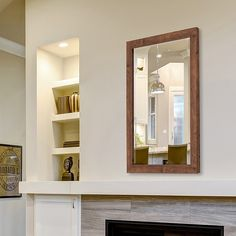 The Hitchcock-Butterfield Bentley Mirror is certain to add the perfect finishing touch to any living space. Featuring a rich and rustic walnut wood finish, this mirror has a timeless style that is sure to enhance any traditional, or rustic decor. Rustic Wall Mirrors, Contemporary Wall Mirrors, Home Decor Mirrors, Modern Contemporary, Rustic Design, Rustic Decor, Walnut Mirror, Beveled Edge Mirror