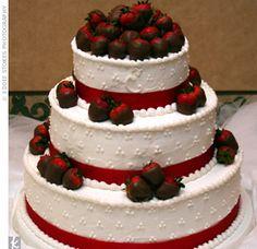 Simple Wedding cake idea.