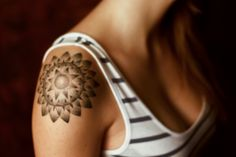 beautiful #pattern #tattoo on the arm
