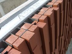 Cladding Design, Brick Cladding, Brick Paneling, Brick Facade, Facade Design, Facade House, Concrete Facade, Exterior Design, Brick Architecture