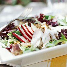 Grilled Pork & Pear Salad