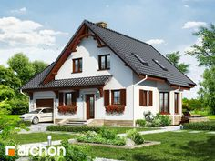 Дом в тамарисках - Визуализация 1