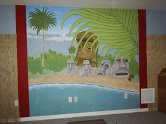 Tiki Mural Soul-House Art