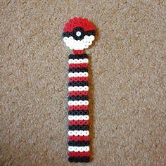 Pokemon perler bead bookmark by wickedsister69