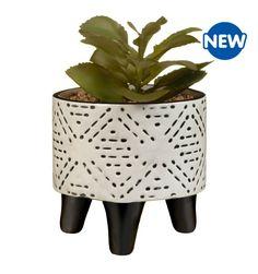 Artificial Plants, Aztec, Planter Pots, Succulents, Colours, Bathroom, Black, Design, Decor