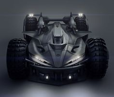 Batmobile Concept Car by Encho Enchev