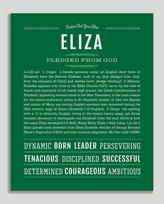 Personalized Name Prints - Male Names from A-Z – Page 2 – Name Stories Classic Names, Descriptive Words, Female Names, Thing 1, Name Art, Place Names, Names With Meaning, Haley Name Meaning, Baby Kind