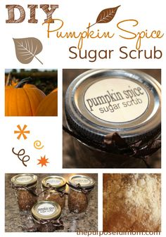 Make this pumpkin pie spice sugar scrub to give as a DIY Christmas or anytime gift or save it for pampering your own hands!