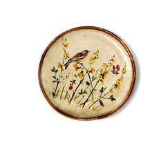 Vintage  Italian Florentine Wood Tray Plate  by millyscollection, $33.00