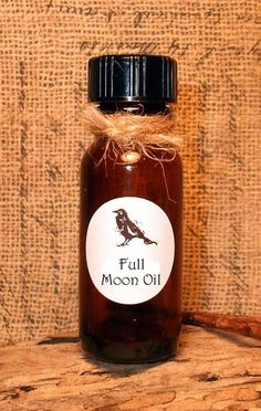 FULL MOON OIL   Blessing Oil  Candle by DragonflyMoonLotions