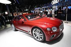 Bentley Continental GT Makes A Grand Appearance In Frankfurt : The all new Bentley Continental GT has made its public debut on the first day of the Frankfurt Motor Show.