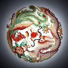 dragon and phoenix symbol - Google Search