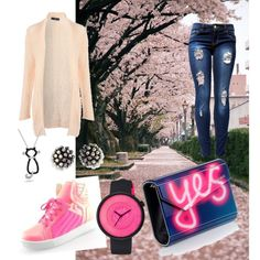 Untitled #6 by veronika3110 on Polyvore featuring polyvore, fashion, style, Jane Norman, AM Chics, Jimmy Choo, Miriam Haskell, Roxy and Bling Jewelry