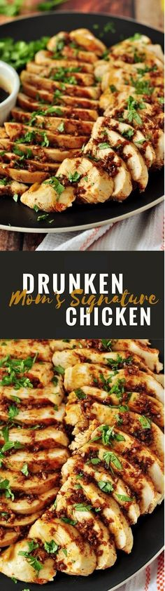 Dip your cooked chicken in this secret drunken sauce made with homemade hot chili oil, this drunken chicken will knock your socks off. Healthy Chicken Recipes, Seafood Recipes, Beef Recipes, Salad Recipes, Dinner Recipes, Cooking Recipes, Pureed Recipes, Cheese Recipes, Vegan Recipes
