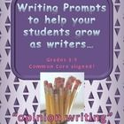 """By far one of the biggest """"difference makers"""" for me as a """"teacher of writers"""" has been my use of demand prompts to guide instruction. In our class, we have a balance of free writing, process writing, and demand writing—but for me, the most effective way to ASSESS students is to do a regular demand prompt to see how students are doing on the targets we have worked on all year. The method is simple and explained. Each prompt is graded using the exact same easy-to-use checklist at the top."""