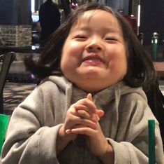 Cute Baby Meme, Baby Memes, Cute Memes, Cute Asian Babies, Korean Babies, Asian Kids, Cute Little Baby, Little Babies, Baby Kids