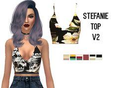 Rebellesims' Stefanie Top V2 - mesh needed