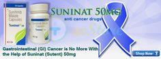 Sutent is used in the treatment of gastrointestinal stromal tumor, pancreatic cancer also known as pancreatic neuroendocrine tumors and advanced renal cell carcinoma.